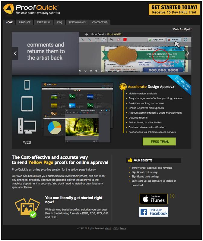 proofquick mainpage
